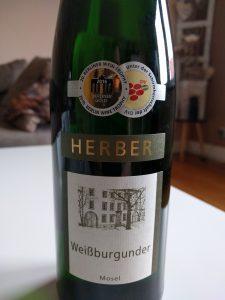 vinothekum.de - Weißwein - Herber Weißburgunder 2014 aus Deutschland / Deutschland, Mosel