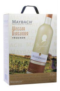 vinothekum.de - Weißwein - Maybach Weißer Burgunder trocken Bag-in-Box aus Deutschland / Deutschland, Mosel